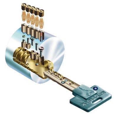 Rekey Mul-t-lock Cylinder